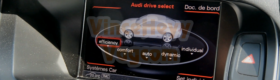 Audi A5 (8T) (Facelift) - Drive Select Efficiency mode