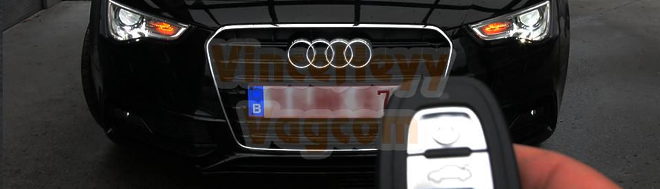 Audi A5 - 8T (Facelift) - CH+LH via les phares