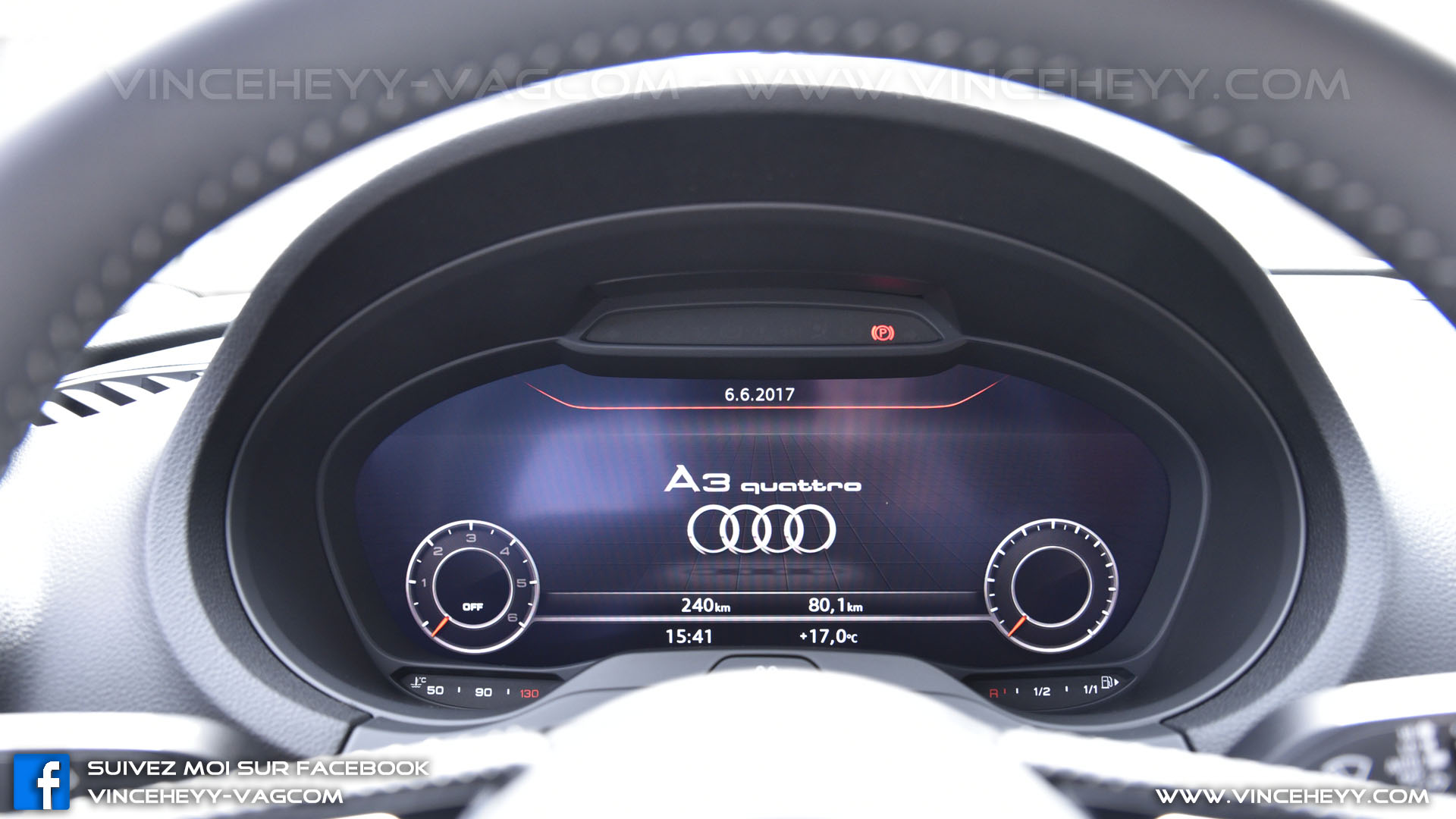 Virtual Cockpit - LOGO START - A3 Quattro