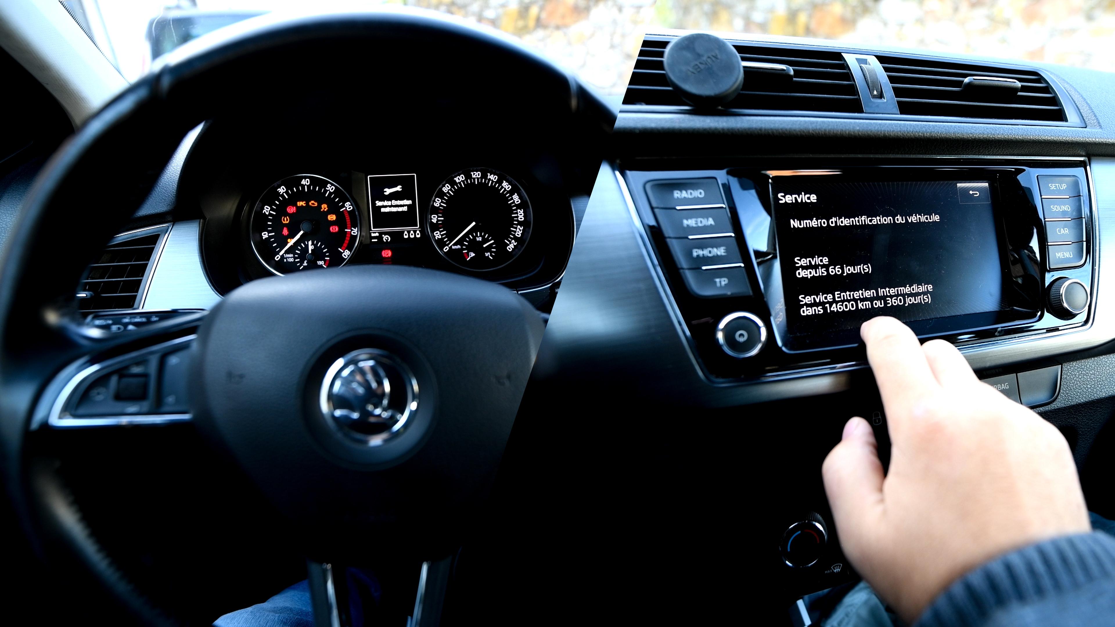 Skoda Fabia (NJ) - Remise à Zéro Service Entretien et Vidange. Ok pour toutes Audi VW Seat Skoda